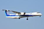 mojioさんが、成田国際空港で撮影したANAウイングス DHC-8-402Q Dash 8の航空フォト(写真)