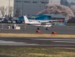 名無しの権兵衛さんが、調布飛行場で撮影したスカイフォト 172P Skyhawk IIの航空フォト(写真)