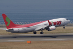 yabyanさんが、中部国際空港で撮影したティーウェイ航空 737-86Nの航空フォト(写真)