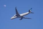 Parsleyさんが、関西国際空港で撮影したキャセイパシフィック航空 A350-941XWBの航空フォト(飛行機 写真・画像)