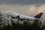 HNANA787さんが、仙台空港で撮影したデルタ航空 747-451の航空フォト(写真)