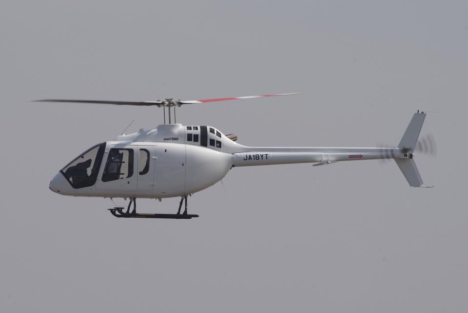 yabyanさんのセコインターナショナル Bell 505 (JA18YT) 航空フォト