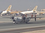 cornicheさんが、バーレーン国際空港で撮影したアメリカ海軍 C-2A Greyhoundの航空フォト(飛行機 写真・画像)