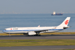 panchiさんが、羽田空港で撮影した中国国際航空 A330-343Xの航空フォト(飛行機 写真・画像)