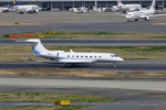TUILANYAKSUさんが、羽田空港で撮影したUS バンク Gulfstream G650ER (G-VI)の航空フォト(写真)