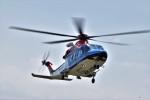 ヘリオスさんが、東京ヘリポートで撮影した新潟県消防防災航空隊 AW139の航空フォト(写真)