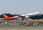 じーく。さんが、成田国際空港で撮影した香港航空 A330-343Xの航空フォト(飛行機 写真・画像)