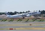 じーく。さんが、成田国際空港で撮影したフィンエアー A350-941の航空フォト(飛行機 写真・画像)