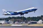 パンダさんが、成田国際空港で撮影したエアブリッジ・カーゴ・エアラインズ 747-329M(SF)の航空フォト(写真)