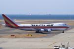 yabyanさんが、中部国際空港で撮影したカリッタ エア 747-4B5F/SCDの航空フォト(写真)
