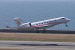 yabyanさんが、中部国際空港で撮影したプライベートエア G650 (G-VI)の航空フォト(写真)