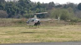 Jin(*^_^*)さんが、雄飛航空川島ヘリポートで撮影した日本法人所有 R22 Beta IIの航空フォト(飛行機 写真・画像)