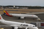 珈琲牛乳さんが、宮崎空港で撮影したアシアナ航空 A321-231の航空フォト(写真)