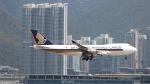 誘喜さんが、香港国際空港で撮影したシンガポール航空カーゴ 747-412F/SCDの航空フォト(写真)