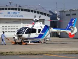 ミルハスさんが、新潟空港で撮影したオールニッポンヘリコプター EC135T2の航空フォト(飛行機 写真・画像)