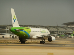 ja8101kyさんが、マスカット国際空港で撮影したサラーム・エア A320-214の航空フォト(飛行機 写真・画像)