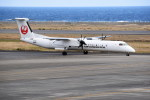 kumagorouさんが、奄美空港で撮影した日本エアコミューター DHC-8-402Q Dash 8の航空フォト(写真)
