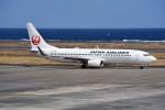 kumagorouさんが、奄美空港で撮影した日本航空 737-846の航空フォト(飛行機 写真・画像)