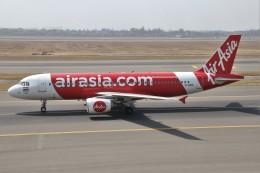 masa707さんが、インディラ・ガンディー国際空港で撮影したエアアジア・インディア A320-214の航空フォト(飛行機 写真・画像)