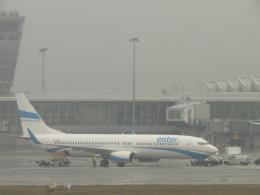 きゃみさんが、ワルシャワ・フレデリック・ショパン空港で撮影したエンターエア 737-8Q8の航空フォト(飛行機 写真・画像)