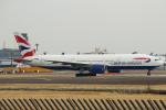 セブンさんが、成田国際空港で撮影したブリティッシュ・エアウェイズ 777-236/ERの航空フォト(飛行機 写真・画像)