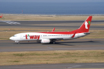yabyanさんが、中部国際空港で撮影したティーウェイ航空 737-8Q8の航空フォト(写真)