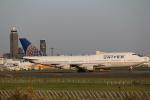 Yusuke Tさんが、成田国際空港で撮影したユナイテッド航空 747-422の航空フォト(写真)