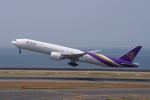 yabyanさんが、中部国際空港で撮影したタイ国際航空 777-3AL/ERの航空フォト(飛行機 写真・画像)