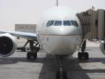 cornicheさんが、キング・ハーリド国際空港で撮影したサウディア 777-368/ERの航空フォト(飛行機 写真・画像)