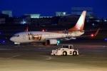 てくてぃーさんが、松山空港で撮影したティーウェイ航空 737-8HXの航空フォト(飛行機 写真・画像)