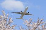多楽さんが、成田国際空港で撮影したエールフランス航空 777-328/ERの航空フォト(写真)