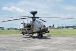 kaeru6006さんが、宇都宮飛行場で撮影した陸上自衛隊 AH-64Dの航空フォト(写真)