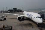 ハピネスさんが、香港国際空港で撮影したフィンエアー A350-941の航空フォト(飛行機 写真・画像)
