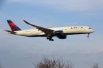 prado120さんが、成田国際空港で撮影したデルタ航空 A350-941XWBの航空フォト(写真)