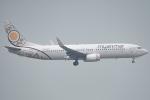 しぃさんが、香港国際空港で撮影したミャンマー・ナショナル・エアウェイズ 737-86Nの航空フォト(写真)