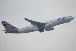 しぃさんが、香港国際空港で撮影したフィジー・エアウェイズ A330-243の航空フォト(飛行機 写真・画像)