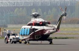 あきらっすさんが、調布飛行場で撮影した石原コーポレーション AW139の航空フォト(写真)