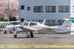 Y-Kenzoさんが、調布飛行場で撮影したアイベックスアビエイション DA42 TwinStarの航空フォト(写真)
