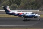 ぽんさんが、高松空港で撮影した伊藤忠アビエーション B200 Super King Airの航空フォト(写真)