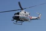ひらひささんが、伊勢湾ヘリポートで撮影した三重県防災航空隊 412の航空フォト(写真)
