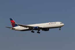 kenjyaさんが、成田国際空港で撮影したデルタ航空 767-432/ERの航空フォト(飛行機 写真・画像)