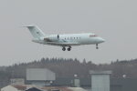 DBACKさんが、三沢飛行場で撮影した連邦航空局 CL-600-2B16 Challenger 604の航空フォト(写真)
