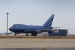 ガス屋のヨッシーさんが、関西国際空港で撮影したラスベガス サンズ 747SP-21の航空フォト(写真)