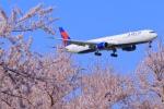 Eckkyさんが、成田国際空港で撮影したデルタ航空 767-432/ERの航空フォト(写真)