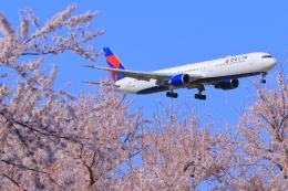 Eckkyさんが、成田国際空港で撮影したデルタ航空 767-432/ERの航空フォト(飛行機 写真・画像)