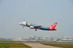 アップルゆこさんが、台湾桃園国際空港で撮影したエアアジア・フィリピン A320-216の航空フォト(写真)