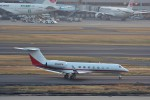 T.Sazenさんが、羽田空港で撮影したウェルズ・ファーゴ・バンク・ノースウェスト G500/G550 (G-V)の航空フォト(飛行機 写真・画像)