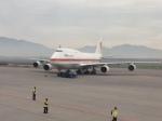 AntonioKさんが、アルトゥーロ・メリノ・ベニテス国際空港で撮影した航空自衛隊 747-47Cの航空フォト(写真)