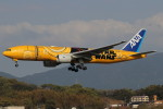 タンちゃんさんが、福岡空港で撮影した全日空 777-281/ERの航空フォト(写真)