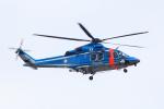 CL&CLさんが、奄美空港で撮影した鹿児島県警察 AW139の航空フォト(写真)